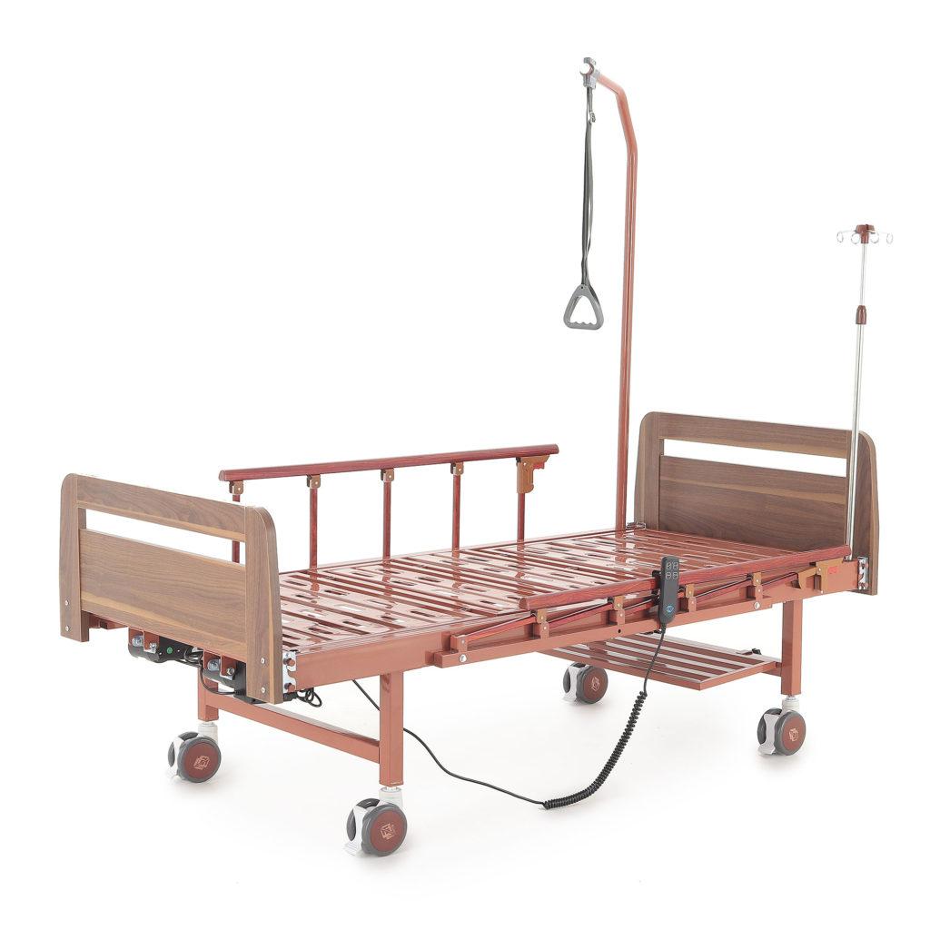 Кровать электрическая Мед-Мос DB-7 (МЕ-2028Д-00 (У-удлинение)) (2 функции)